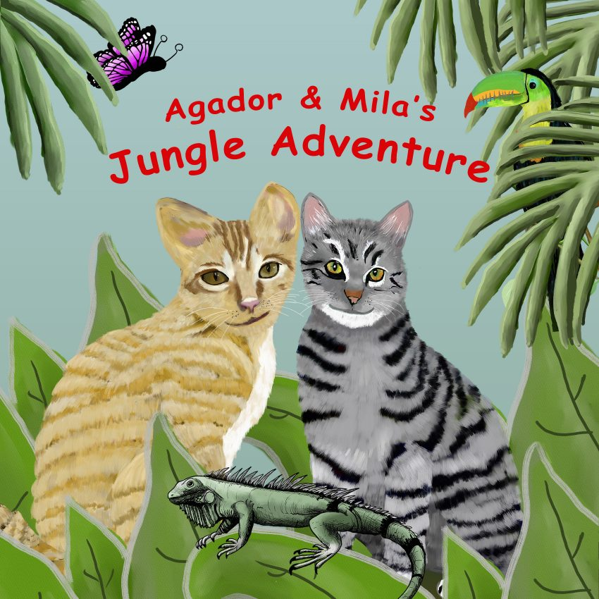 Agador & Mila's Jungle Adventure Book Cover